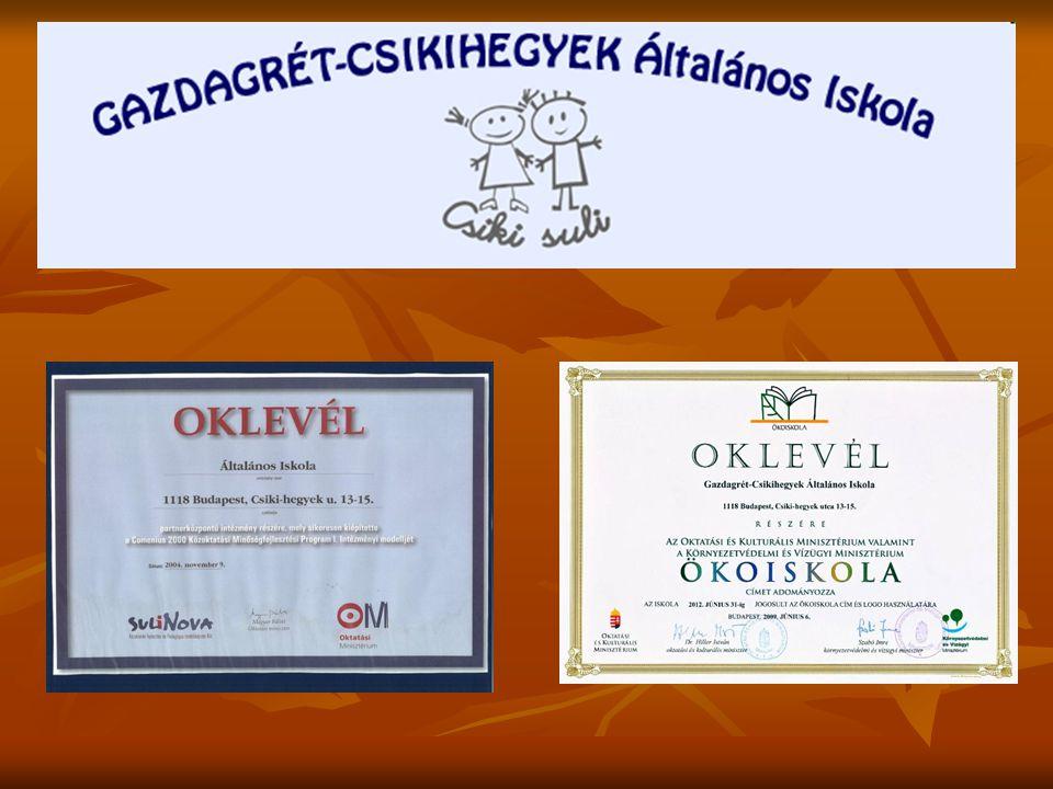 Iskolahívogató foglalkozások 2014.november 26. 17 00 Fejlesztő játékok bemutatója 2014.
