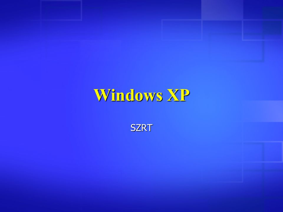 Windows XP SZRT