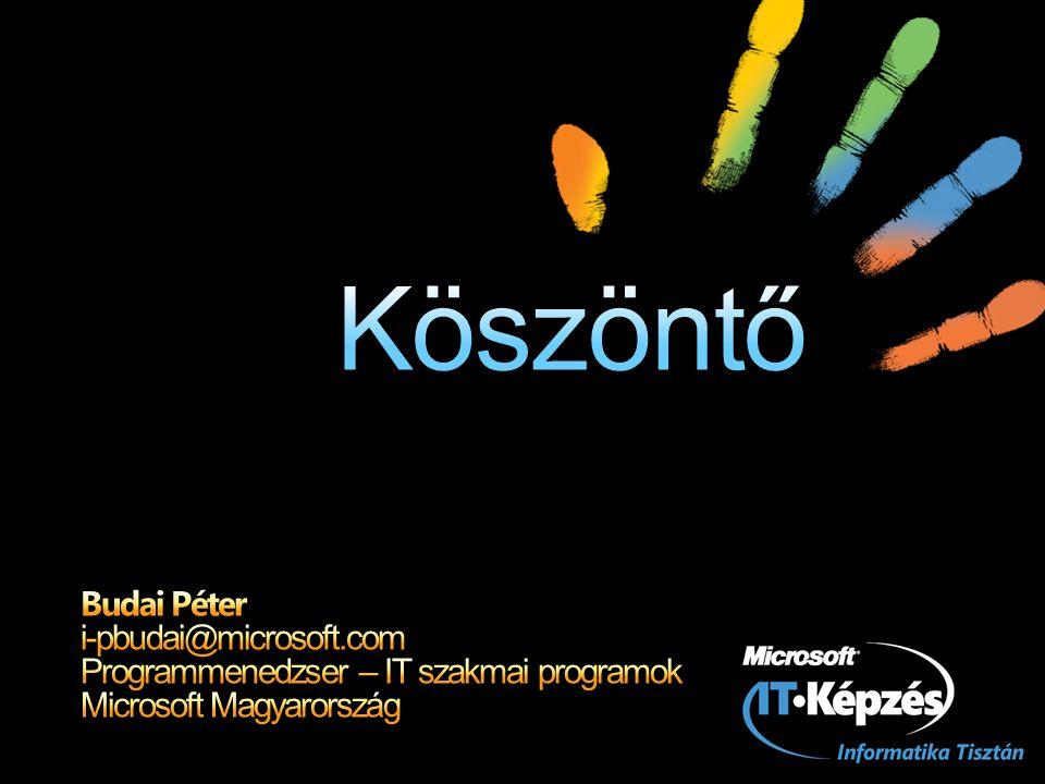 XPS támogatás az Office 2007-ben: Letölthető bővítmény (PDF/XPS konverter) Mentés másként… Nyomtatás helyi XPS nyomtatóra Megtekintéséhez: XPS Viewer Beépül az Internet Explorerbe is A.NET 3.0 keretrendszer részeként is települ Támogatott platformok Windows Vista (benne) Windows XP Windows SRV 2003 és 2008