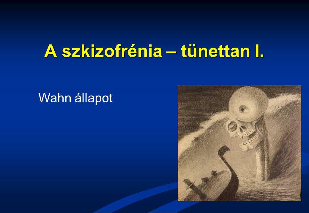 A szkizofrénia – tünettan I. Wahn állapot