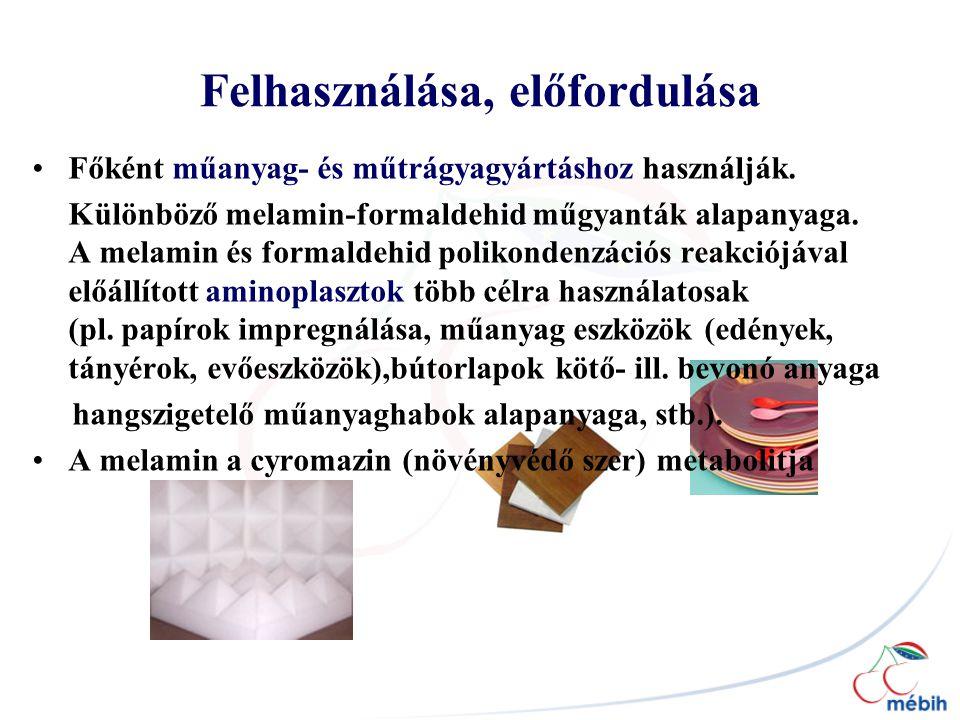 Felhasználása, előfordulása Főként műanyag- és műtrágyagyártáshoz használják.