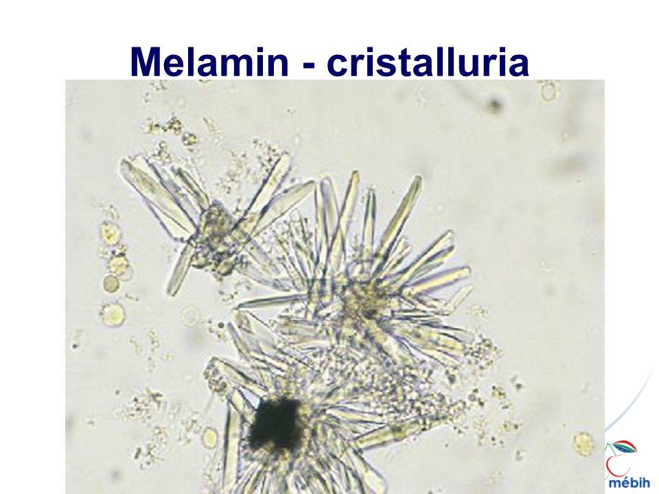 Melamin - cristalluria