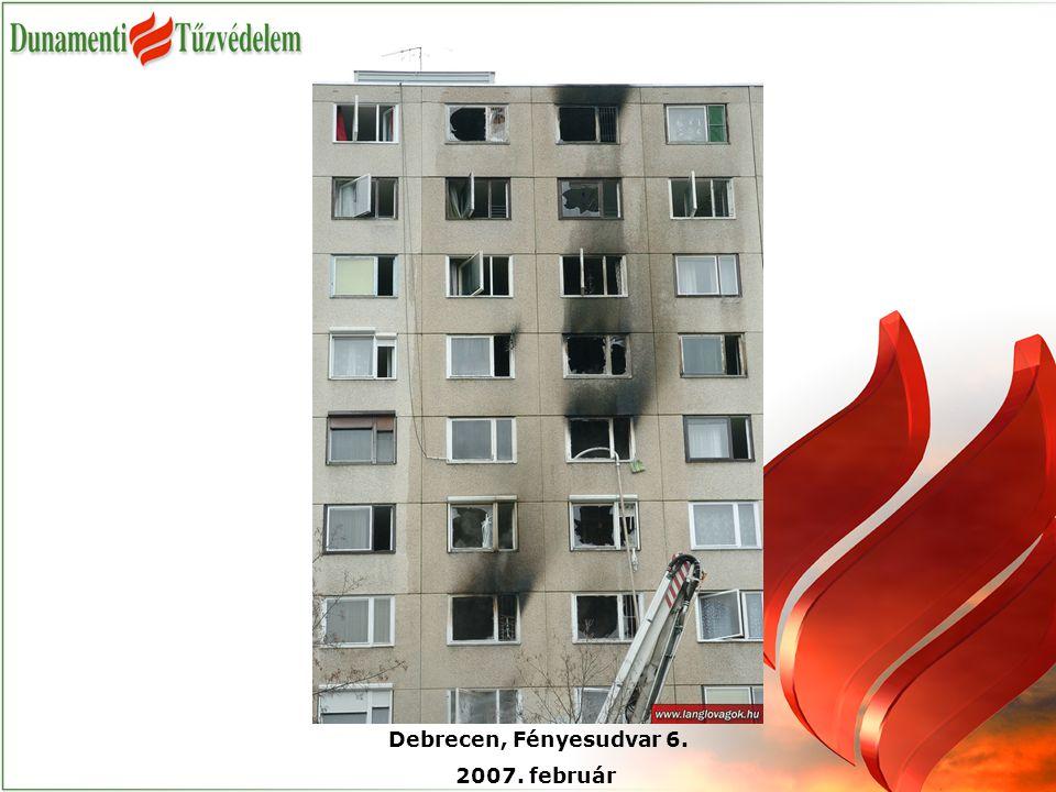 Debrecen, Fényesudvar 6. 2007. február