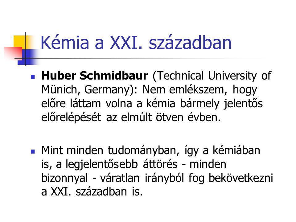 Kémia a XXI.