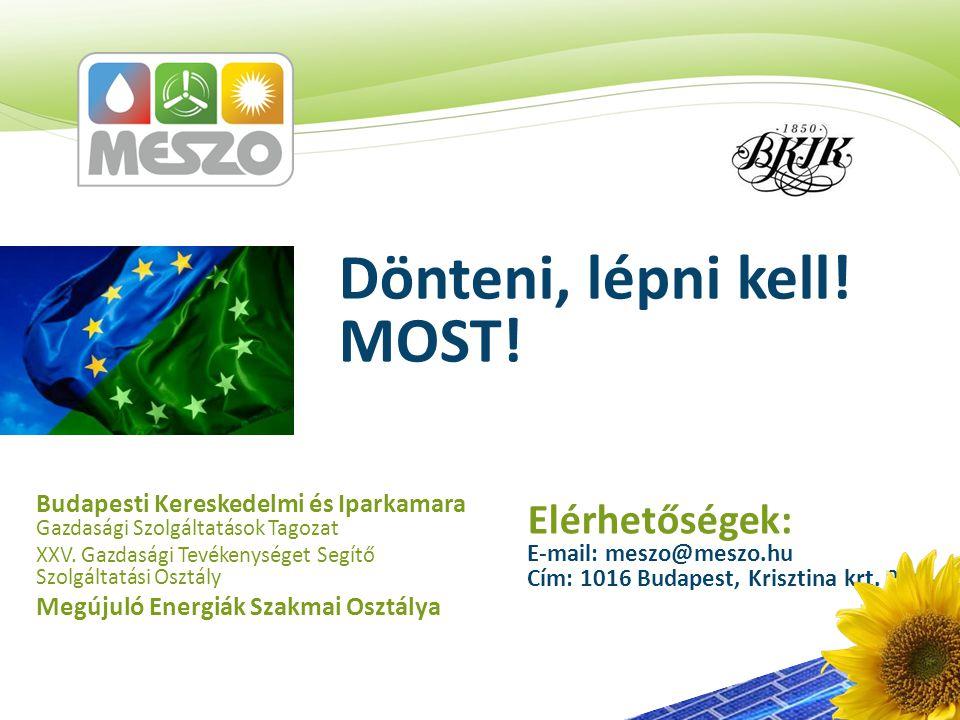 Budapesti Kereskedelmi és Iparkamara Gazdasági Szolgáltatások Tagozat XXV.