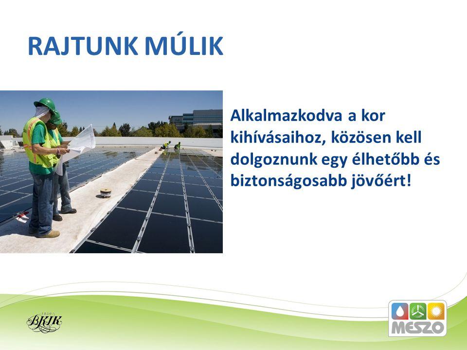 A megújuló energiákkal kapcsolatos termékek és szolgáltatások minősítése, szakmai továbbképzés, konferenciák szervezése, energiahatékonysági tanácsadás.