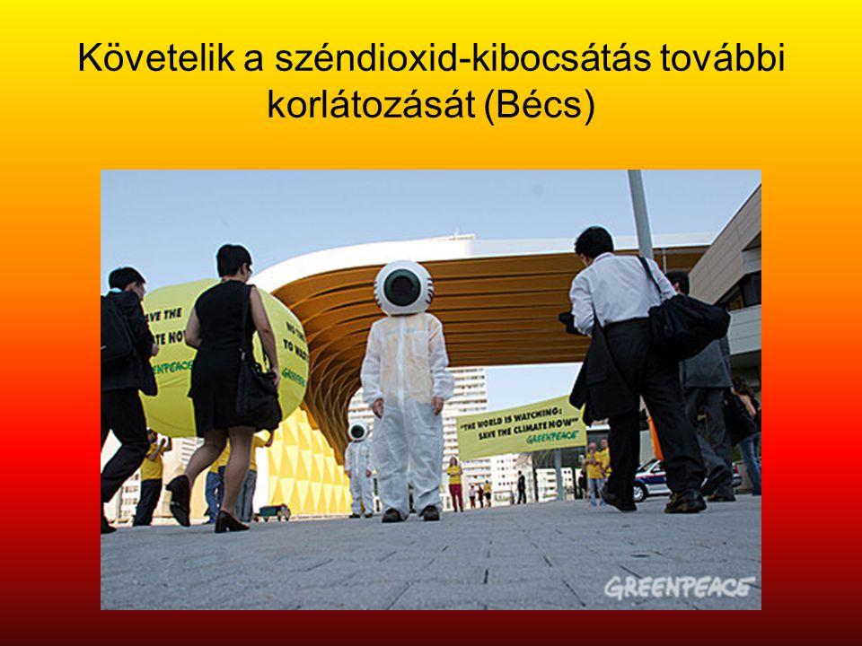 Követelik a széndioxid-kibocsátás további korlátozását (Bécs)