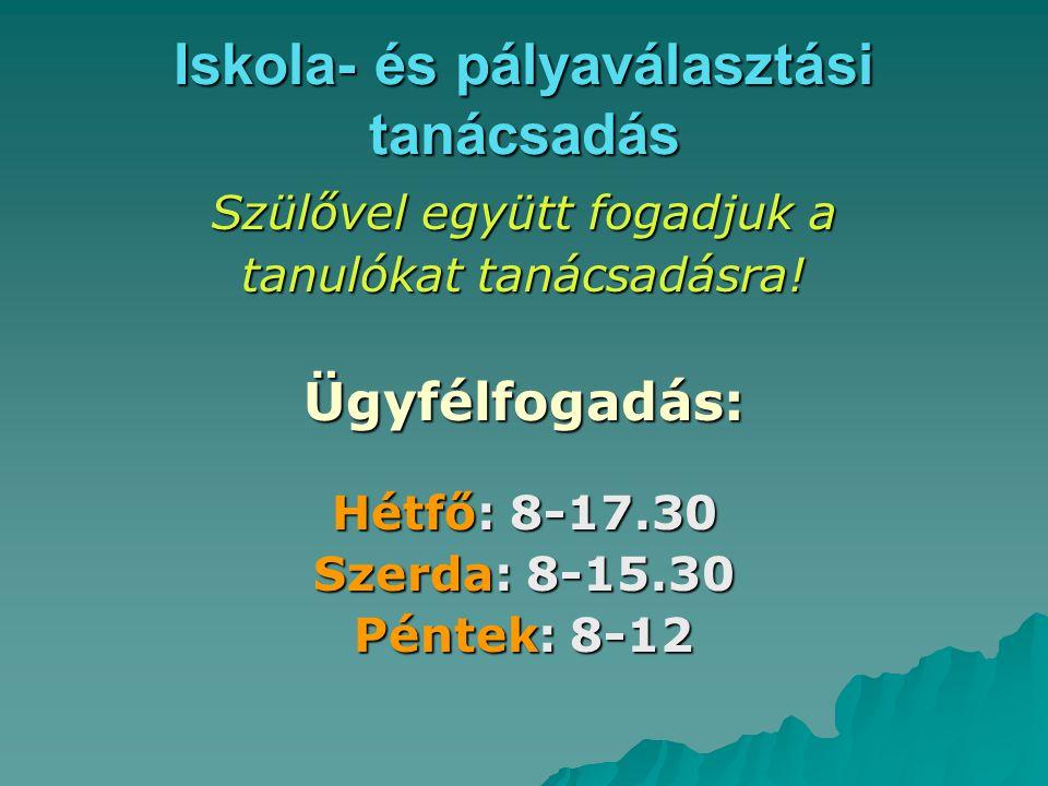 FELVÉTELI A KÖZÉPFOKÚ ISKOLÁKBAN a 2008/2009-es tanévben