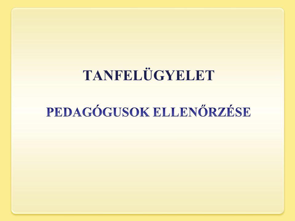 TANFELÜGYELET