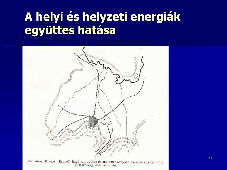 2323 A helyi és helyzeti energiák együttes hatása