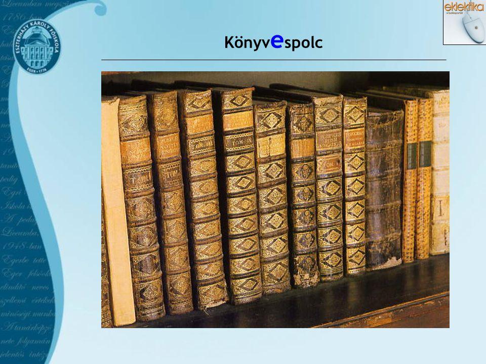 Könyv e spolc