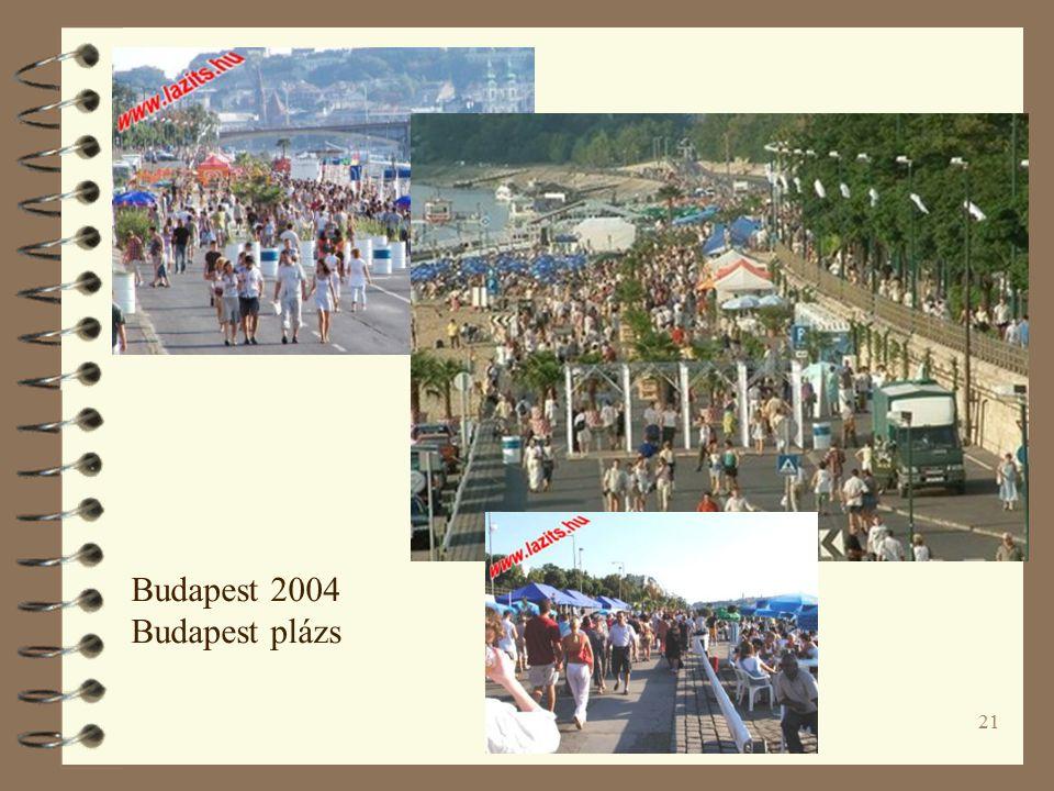 21 Budapest 2004 Budapest plázs
