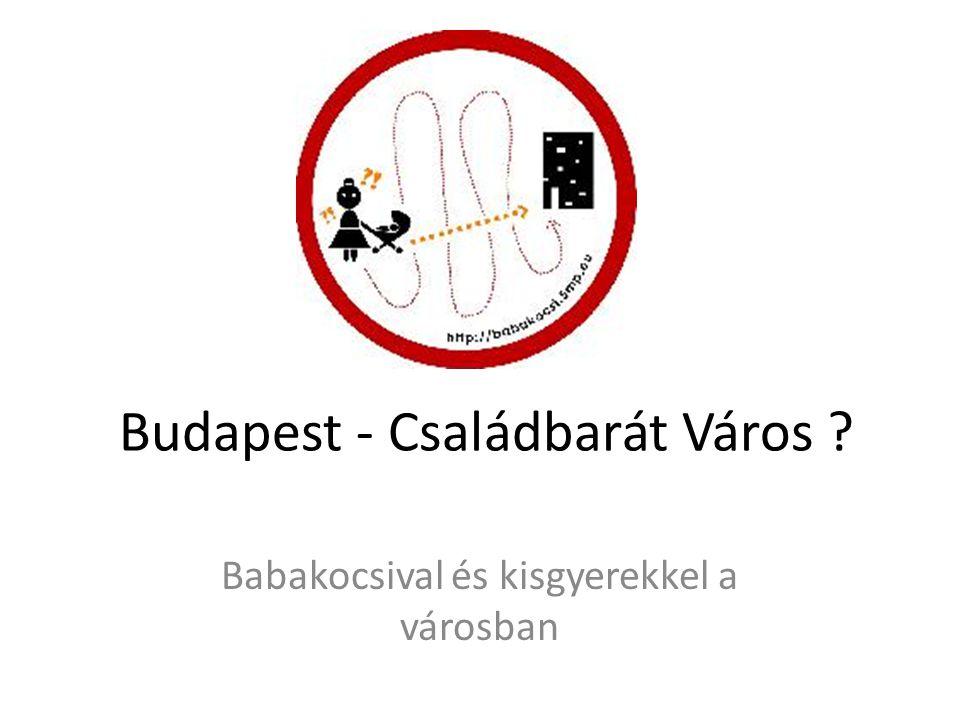 Budapest - Családbarát Város Babakocsival és kisgyerekkel a városban
