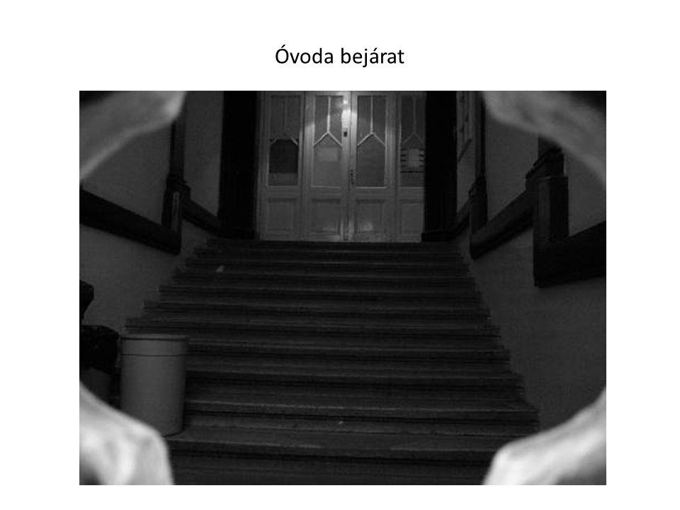 Óvoda bejárat