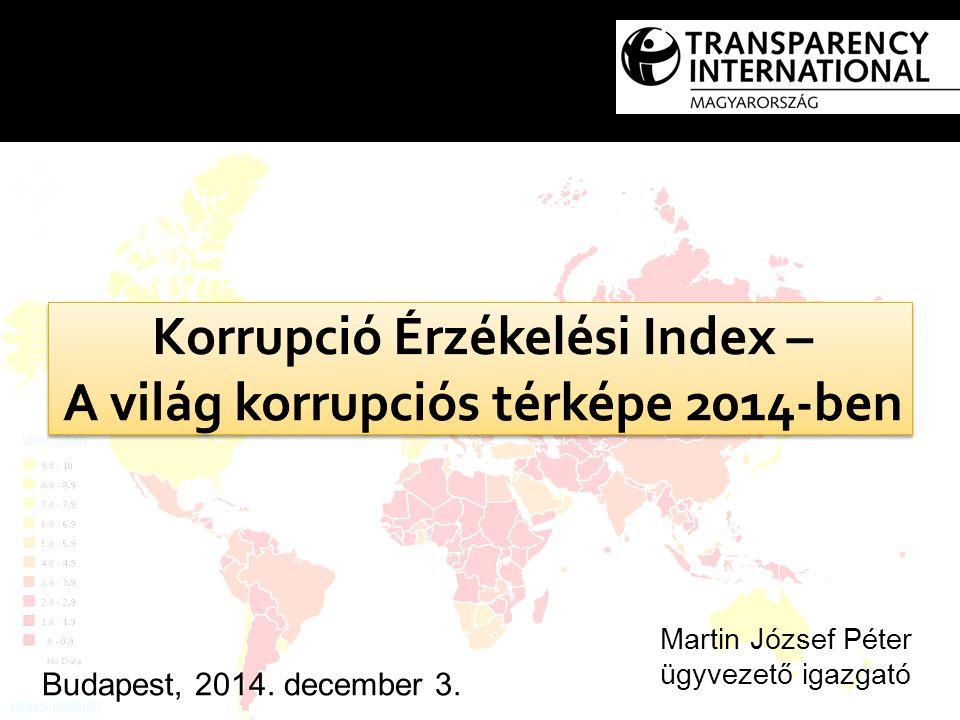 Budapest, 2014. december 3. Martin József Péter ügyvezető igazgató