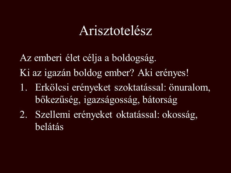 Arisztotelész I.e. 384-322