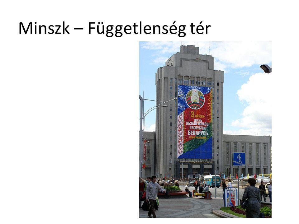 Minszk – Függetlenség tér