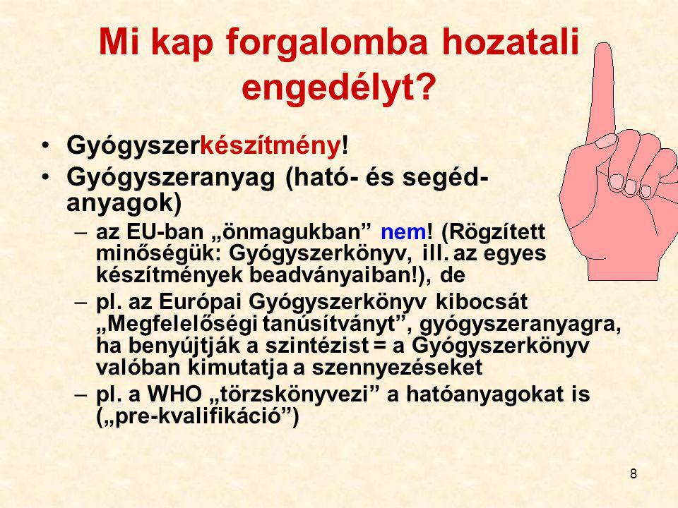 """68 Bioegyenértékűség és helyettesíthetőség – speciális """"magyar iskola Nem egészen azonos."""