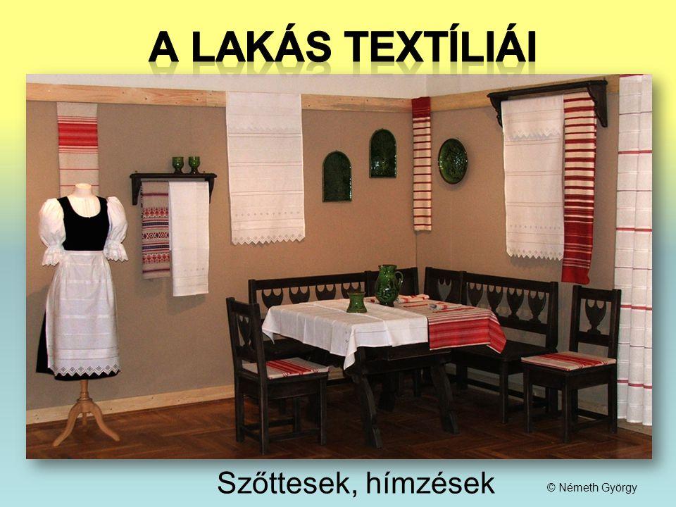 Szőttesek, hímzések © Németh György