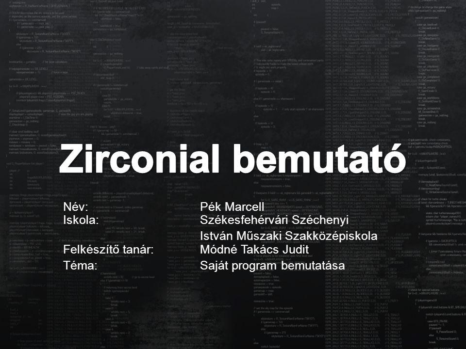 A Zirconial egyfajta mesterséges intelligencia (AI).