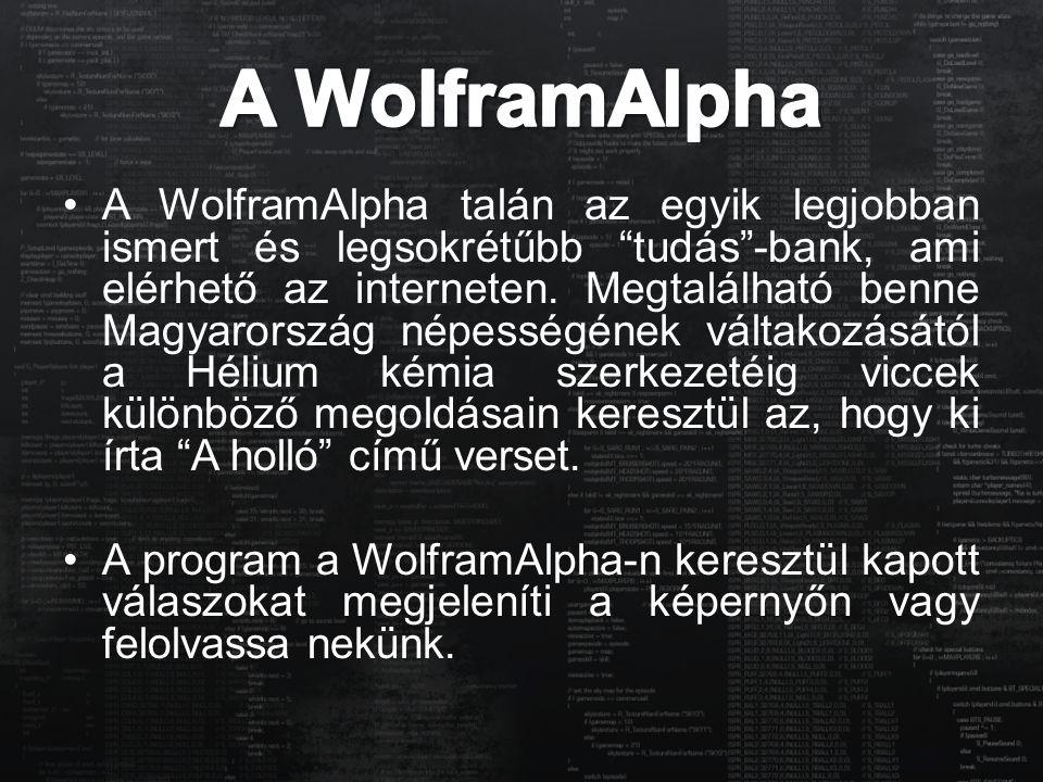 """A WolframAlpha talán az egyik legjobban ismert és legsokrétűbb """"tudás""""-bank, ami elérhető az interneten. Megtalálható benne Magyarország népességének"""