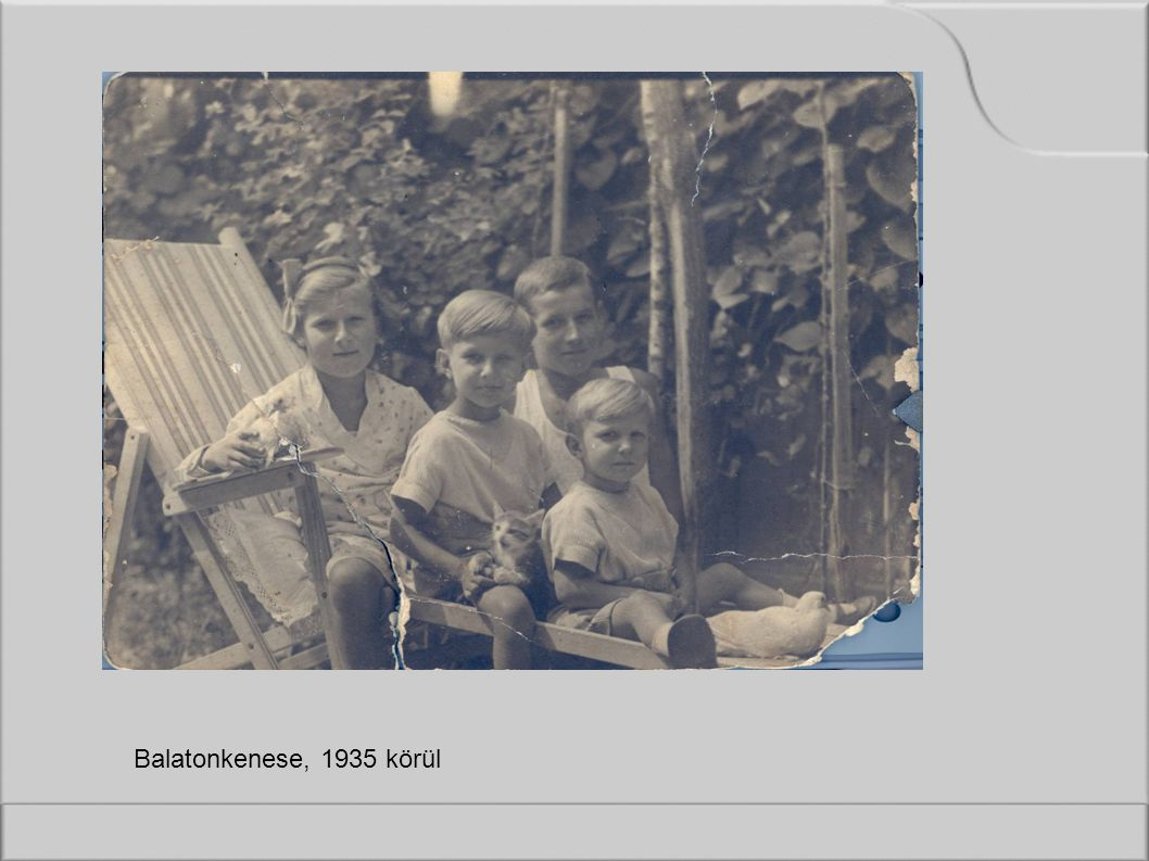 Balatonkenese, 1935 körül