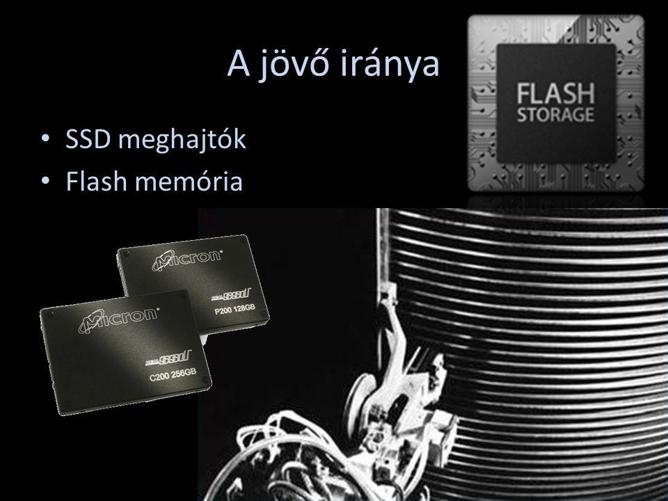 A jövő iránya SSD meghajtók Flash memória