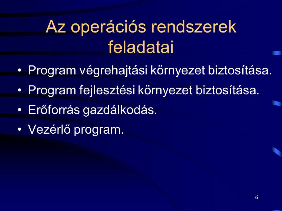 5 OPR interface-ek Interface: –~felület, –OPR interface: kommunikációs felület, amin keresztül az OPR szolgáltatásait igénybe lehet venni. OPR interfa