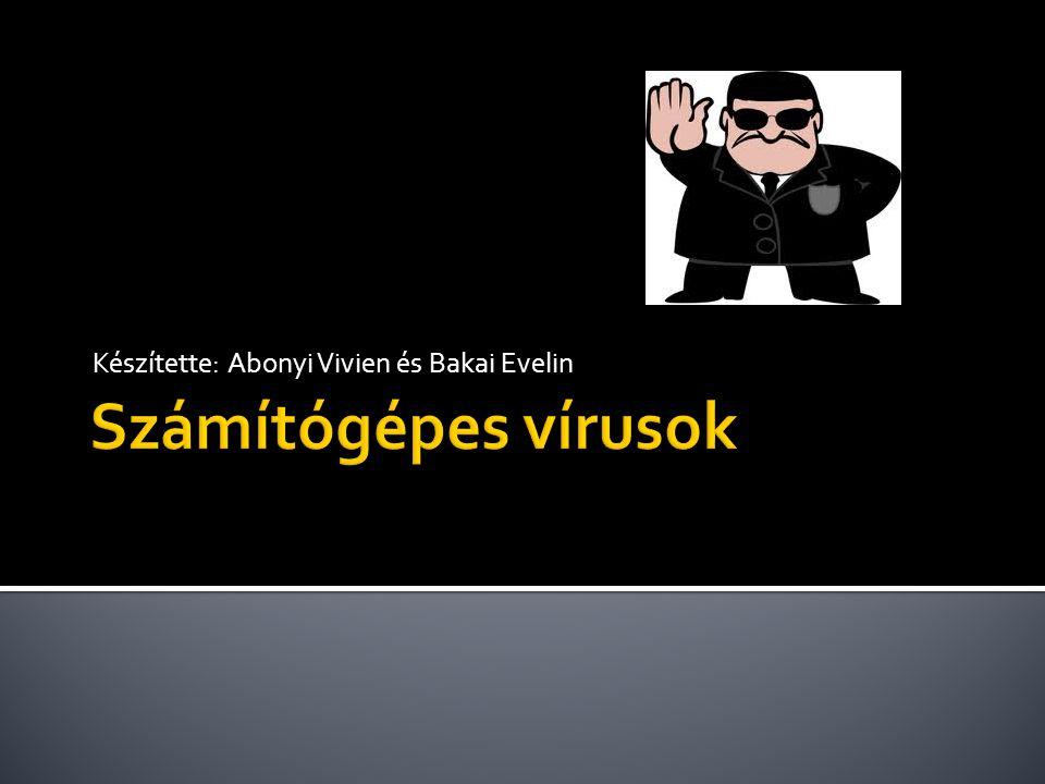  Egy vírus rendszerint három programrészből áll ▪ A felismerő résszel a vírus megállapítja, hogy az állomány meg van-e már fertőzve.