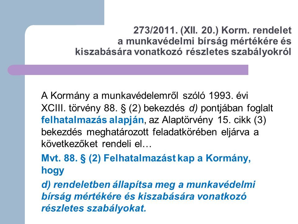 Ország Nr 1Nr 2Nr 3Nr 4Nr 5 Magyar- ország Szilikózis (72)Zoonózisok (57) Bőrbetegsé- gek (30) Zaj okozta halláskároso- dás (28) Egyéb légúti megbetege- dés (26) Ausztria Zaj okozta halláskároso- dás (935) Bőrbetegségek (212) Légzőszervi megbetege- dések (57) Mezotelióma (57) Egyéb (263) Csehország Kéztő-alagút szindróma (CTS) (237) Mozgásszervi megbetegedések (219) Csontok, ízületek, inak megbete- gedése (187) Bőrbeteg- ségek (98) Egyéb (318) Belgium Zaj okozta halláskáro- sodás (275) Nyomás által okozott idegbénulás (210) Felső végtagi osteo- articularis megbetege- dések (157) Mezotelióma (128) Egyéb (211) A leggyakoribb foglalkozási megbetegedések száma Európa néhány országában, 2006