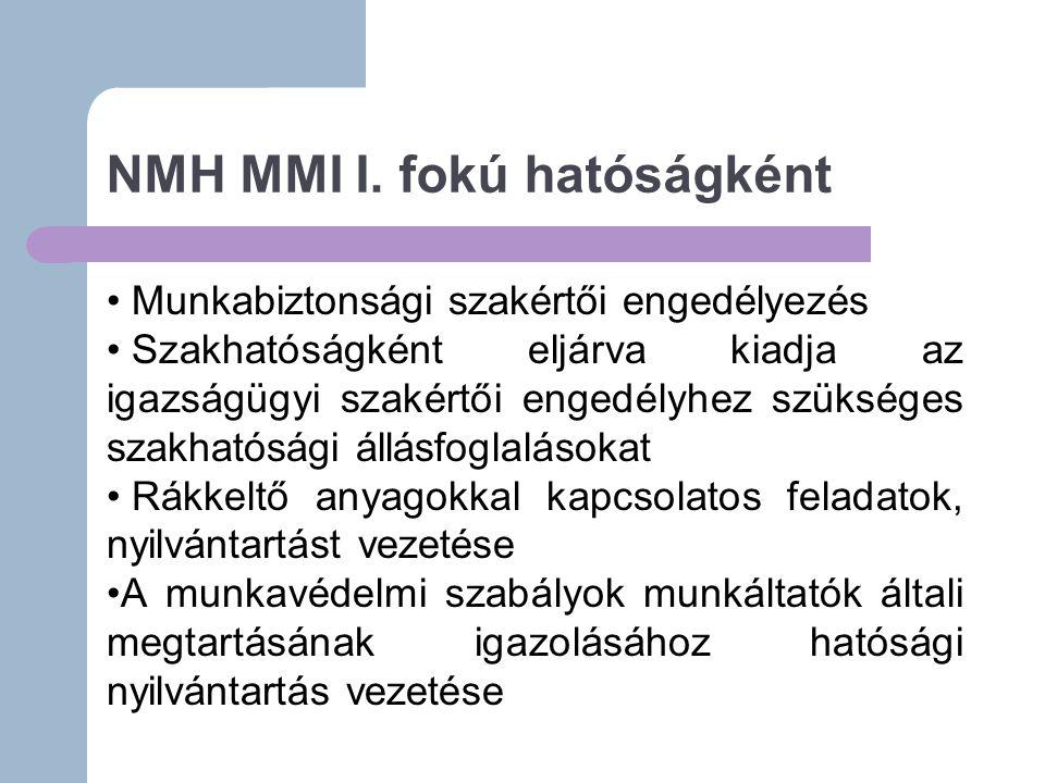 NMH MMI I.