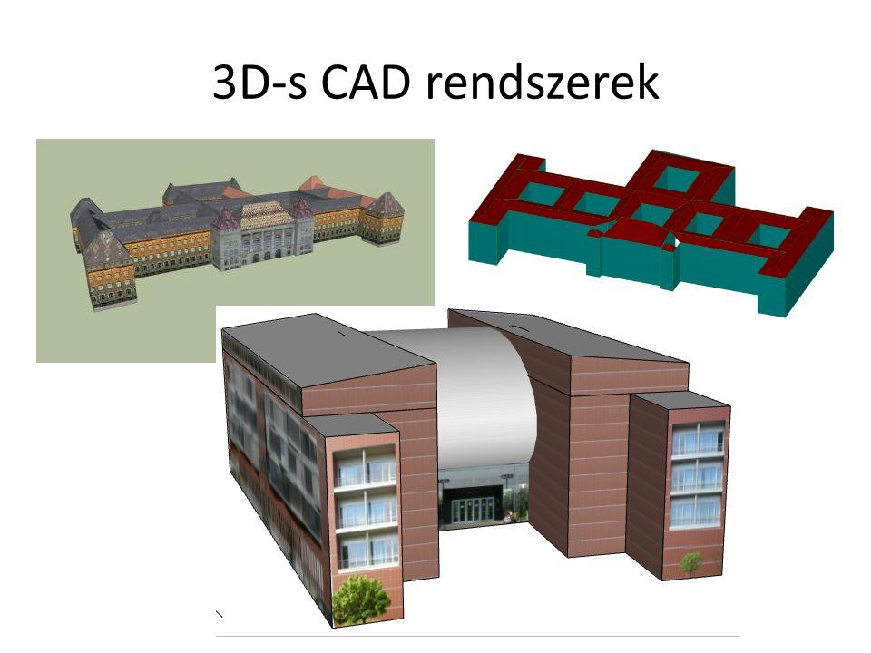 3D-s CAD rendszerek