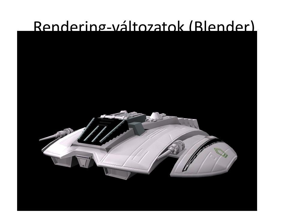 Rendering-változatok (Blender)