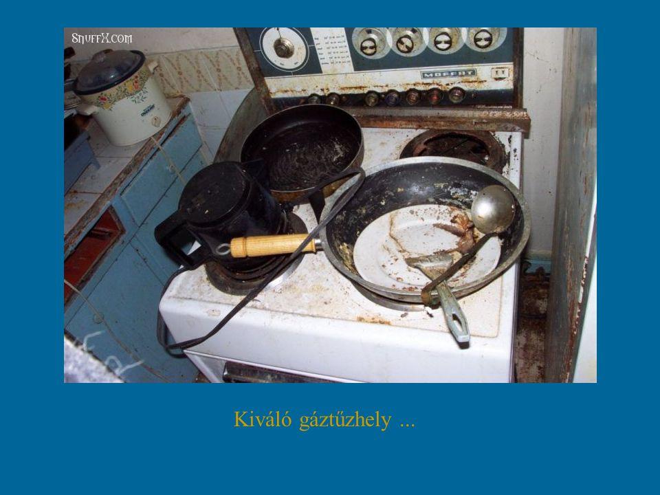 Kiváló gáztűzhely...