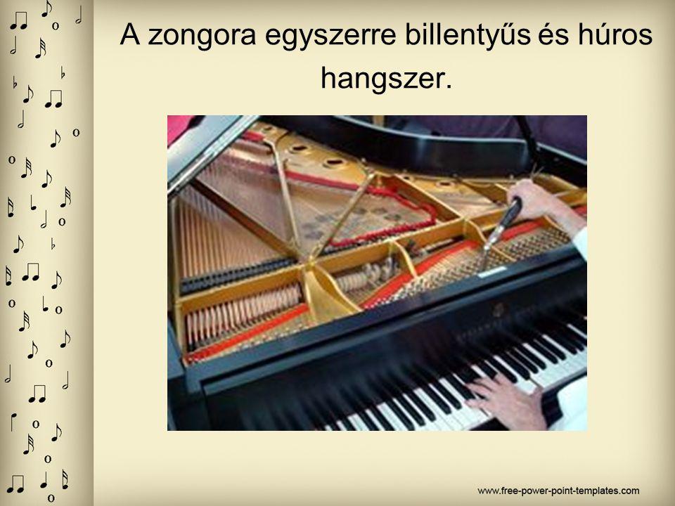 HANGSZER VERSENY A zongora
