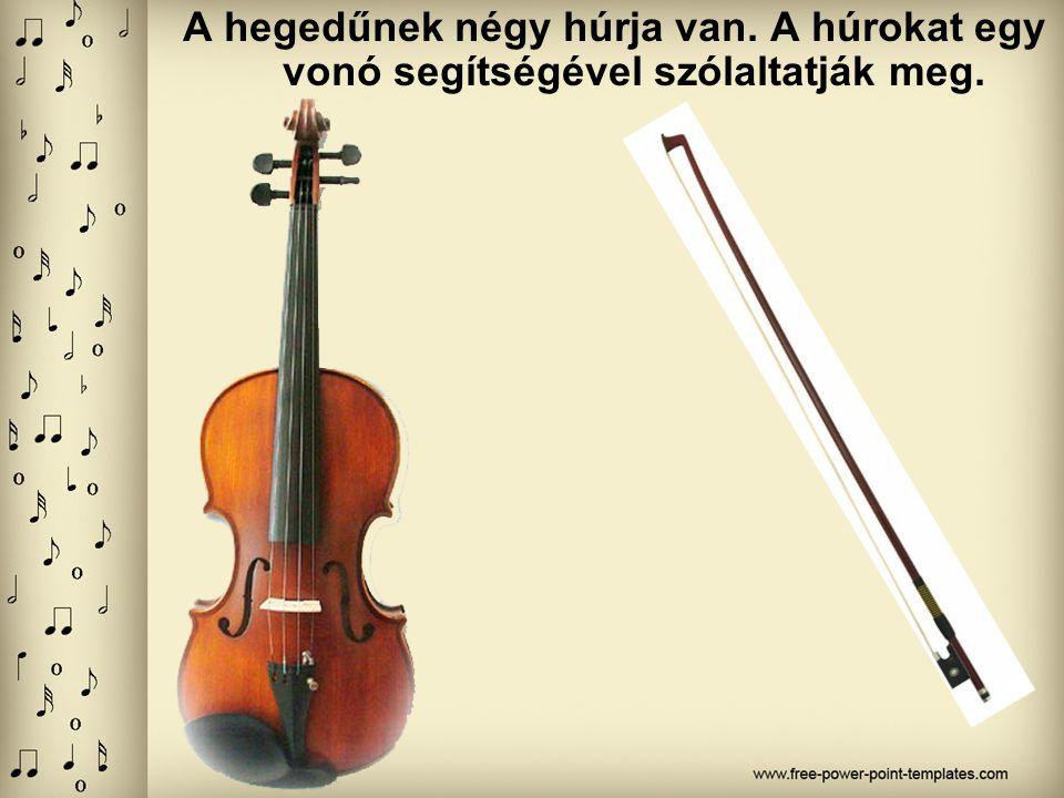 HANGSZER VERSENY A hegedű