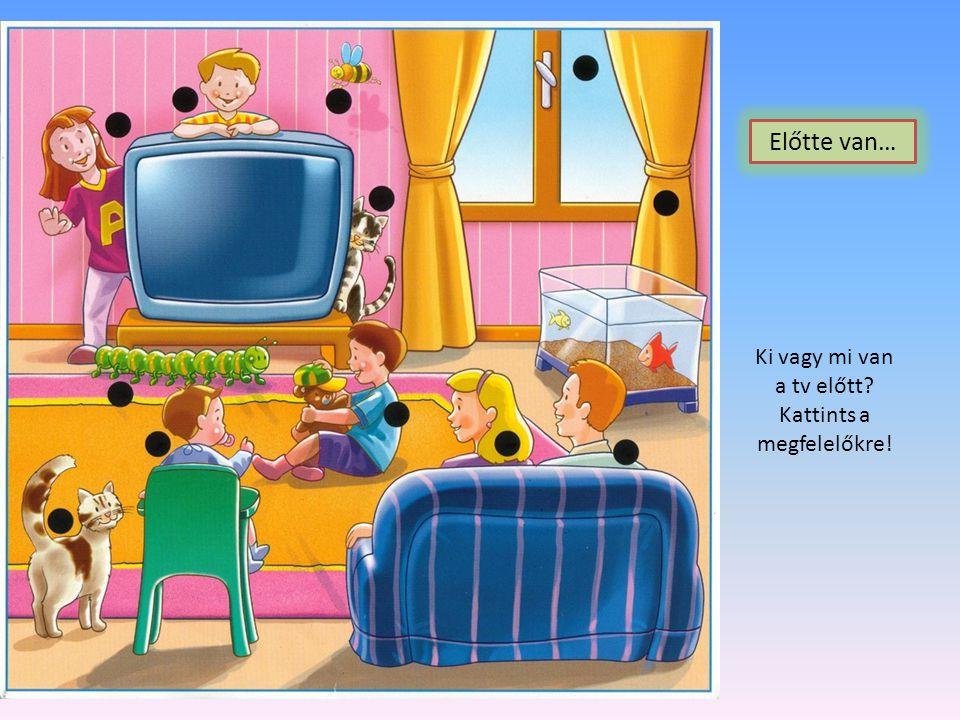 Keresd meg az ágy alatt található tárgyakat! Kattints rájuk! Alatta van…