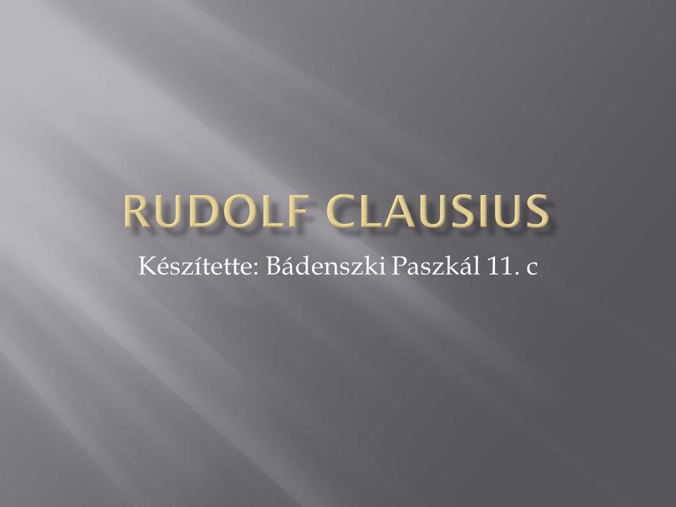 Készítette: Bádenszki Paszkál 11. c
