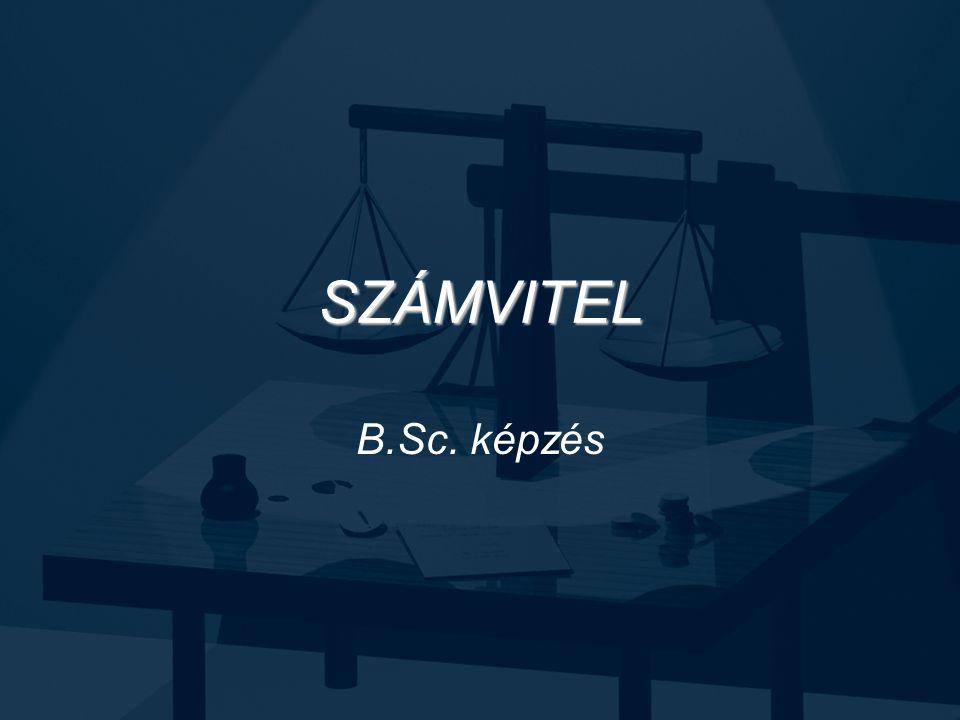 SZÁMVITEL B.Sc. képzés