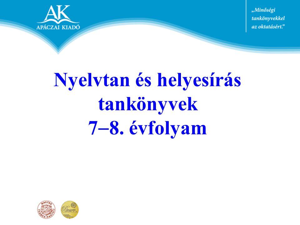 VI.Fogalomtár VII.