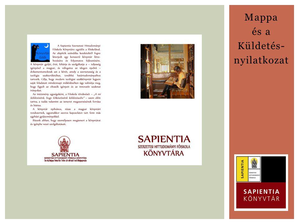Mappa és a Küldetés- nyilatkozat