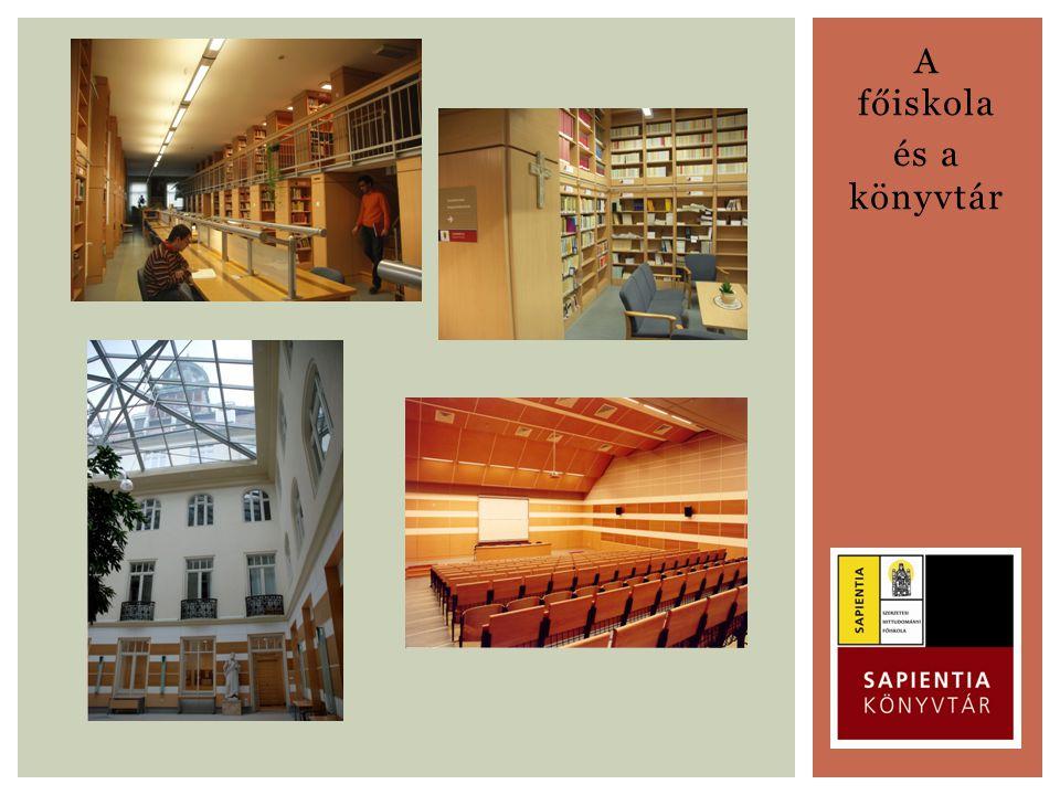 A főiskola és a könyvtár