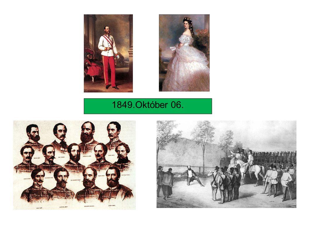 Dualista alkotmányos monarchia Megtorlás és a Bach-korszak Kiegyezés A kiegyezés megszületésének okai http://www.suliaweben.hu/index.php?page=single&tk=57