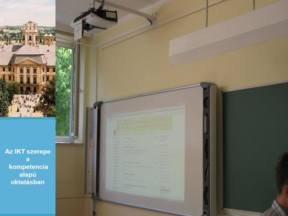Az IKT szerepe a kompetencia alapú oktatásban