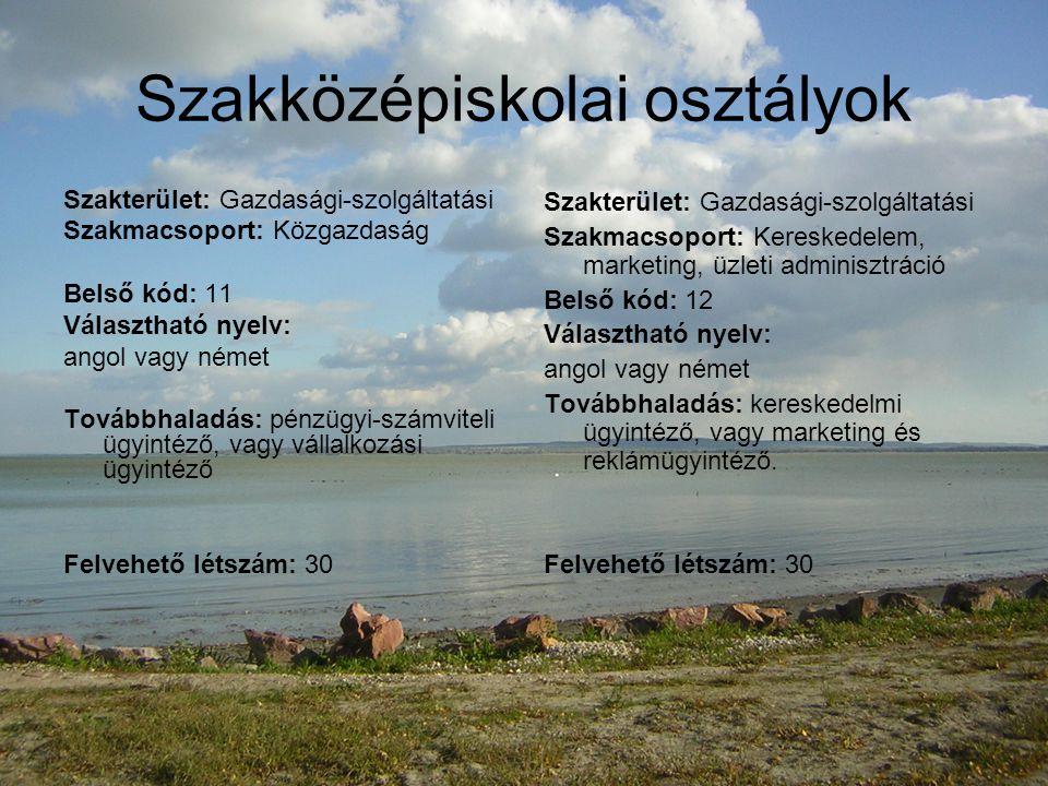 OKJ szakképesítések Szakma neve: marketing- és reklámügyintéző OKJ szakmaszáma: 52 342 01 Felvételi követelmény: érettségi bizonyítvány Képzési idő: 1 év Választható nyelv: angol vagy német