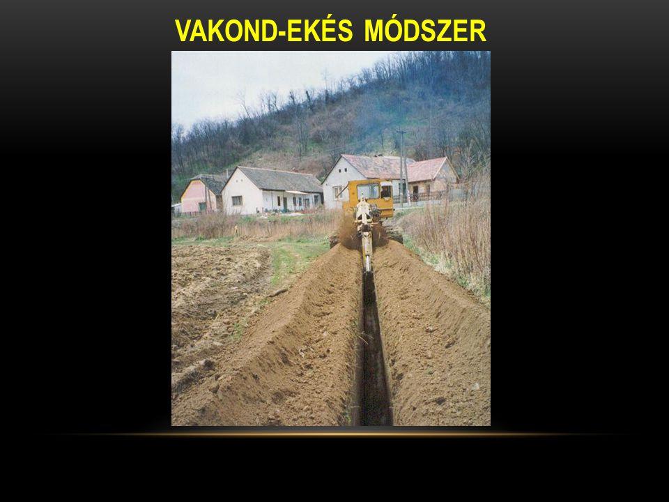 VAKOND-EKÉS MÓDSZER