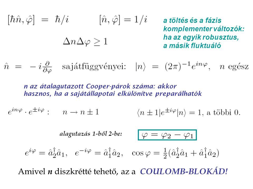 """szupravezető oxid Cooper-pár doboz V g V g V g C C """"offset töltés"""