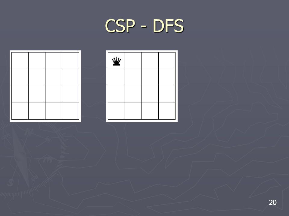 20 CSP - DFS
