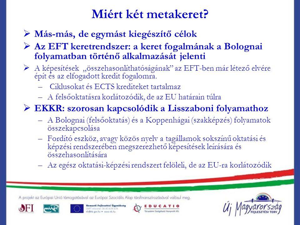 EKKR: célok és szerkezet   Az Európai Bizottság tervezete 2006.
