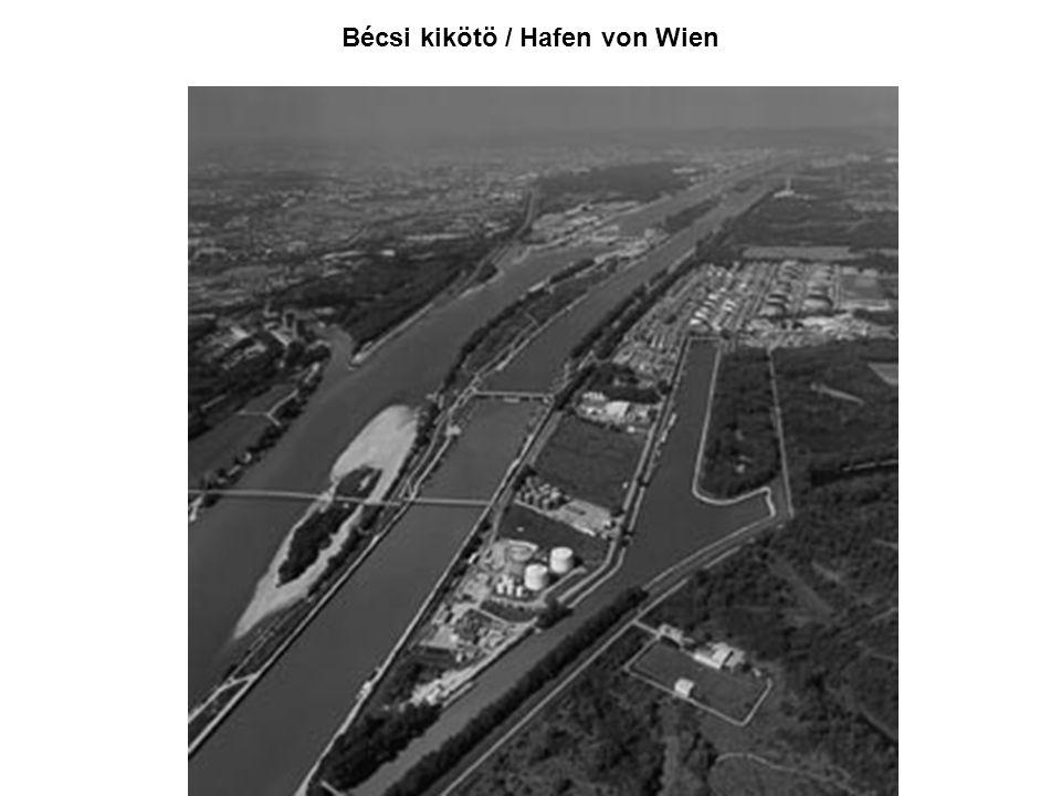 Bécsi kikötö / Hafen von Wien